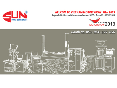 SUN Company Limited take part in the Exhibition Vietnam Motorshow 2013