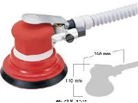 Dust Free Dual Action Sander 6 inch